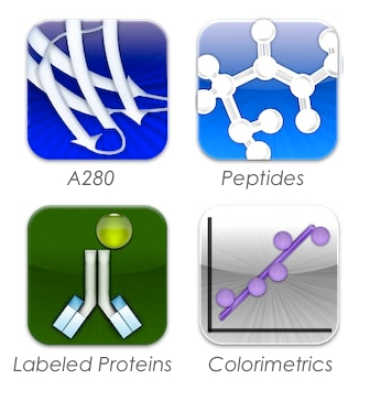 Protein Quantification Software Icons