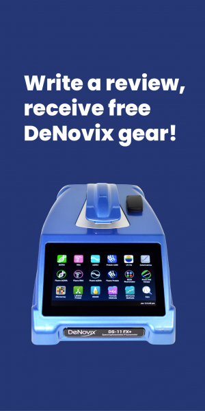 Write a DS-11 Series product review, receive free DeNovix gear!